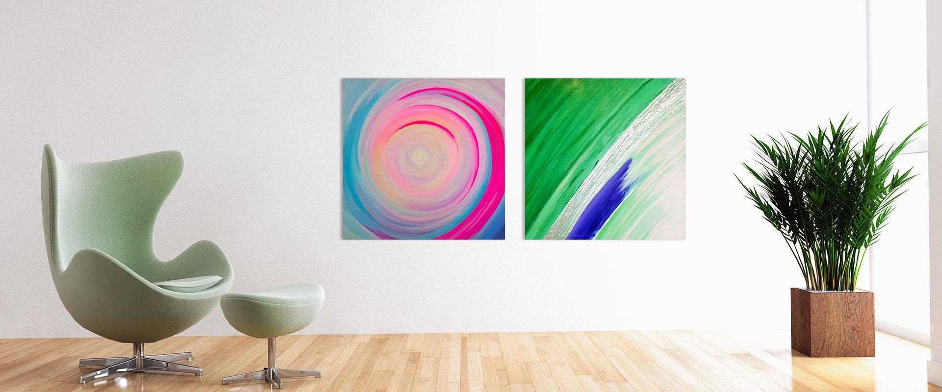 Raum mit Bildern - Inspirational Art by Katerina Suplie